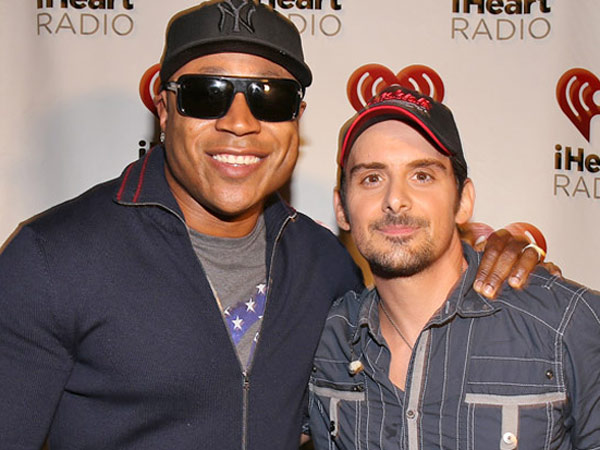 LL Cool J, left, and Brad Paisley.