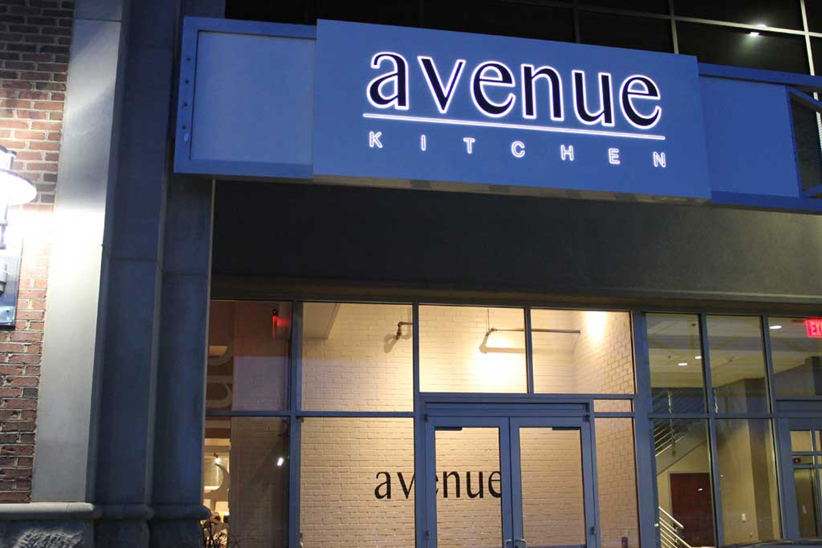 Avenue Kitchen in Villanova at its opening in May 2013.