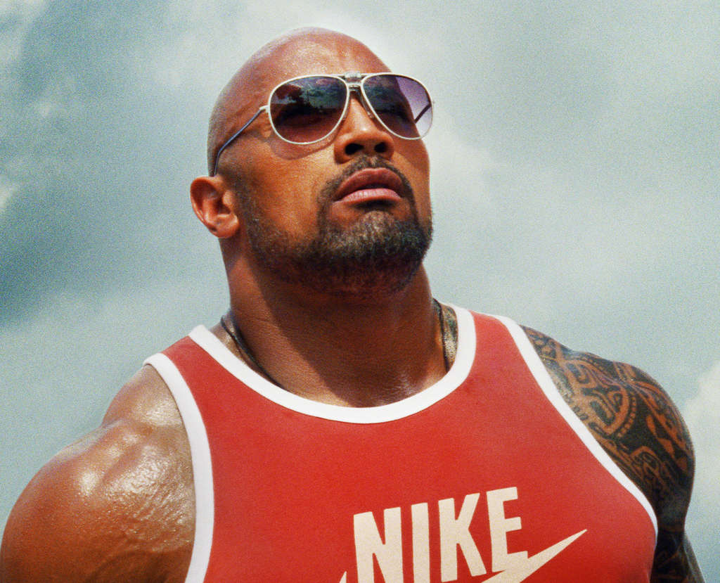 Look at any screen, and the Rock is probably on it.