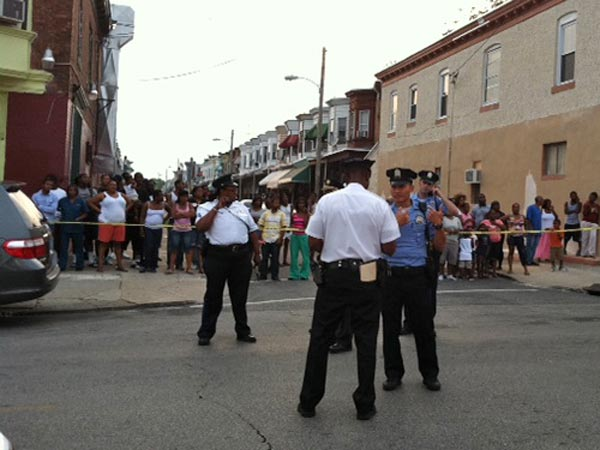 A man who ran away on foot during a car stop on Aug. 9, 2012, in West Philadelphia was eventually shot to death by police after the pursuit.