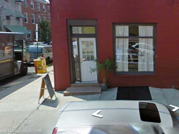 The former Beauty Shop Cafe at 20th and Fitzwater Streets, as spotted by Google´s camera  a couple of years ago.