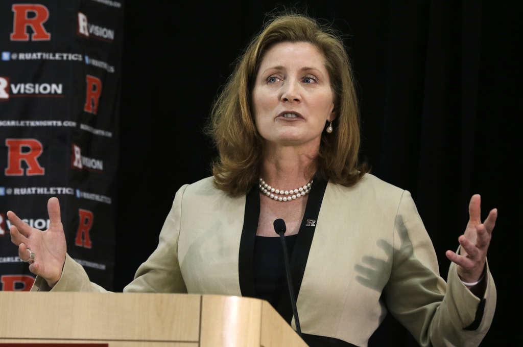 JulieHermann was an administrator at Louisville when<br />an assistant coach sued over dismissal. MEL EVANS / AP