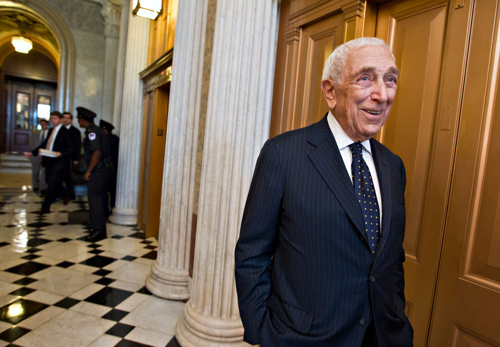 Sen. Frank R. Lautenberg used his determination to push through a range of measures that may not have grabbed headlines but aimed to improve the quality of life. J. SCOTT APPLEWHITE / Associated Press, File