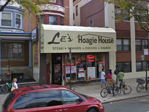 The former Lee´s Hoagie House.at 4034 Walnut St.