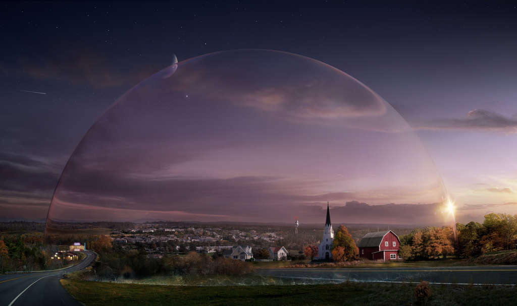 """""""Under the Dome"""" is based on Stephen King´s best-selling novel about a small town that is suddenly and inexplicably sealed off from the rest of the world by a massive transparent dome. The town´s inhabitants must deal with surviving the post-apocalyptic conditions while searching for answers to what the barrier is, where it came from, and if and when it will go away."""