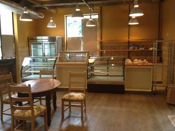 Future cheese counter at Talula´s Daily.