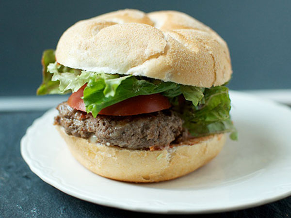 Cheddar and Chipotle Burger