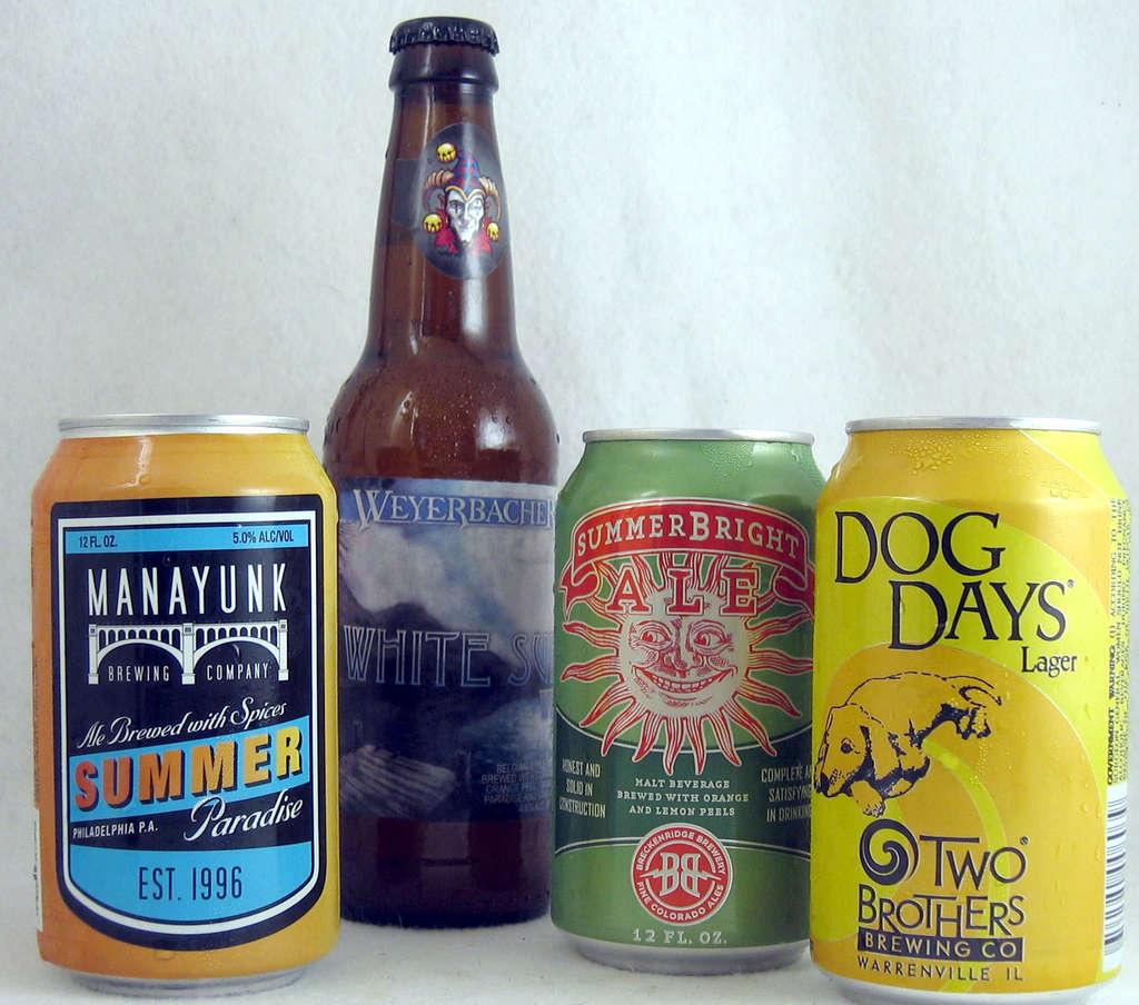 Summer brews: All different,