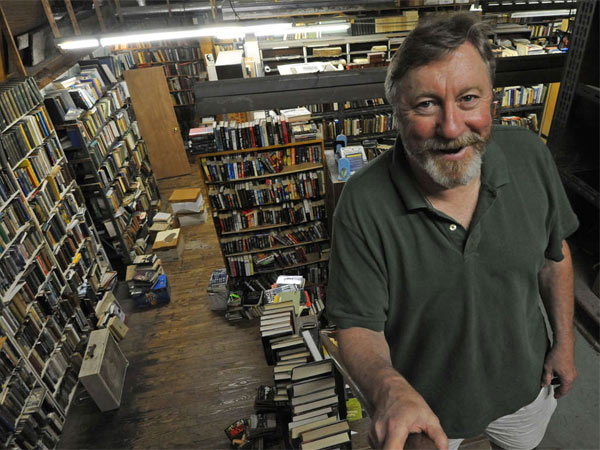 Greg Gillespie runs Port Richmond Books the old-fashioned way - by making visitors feel welcome.