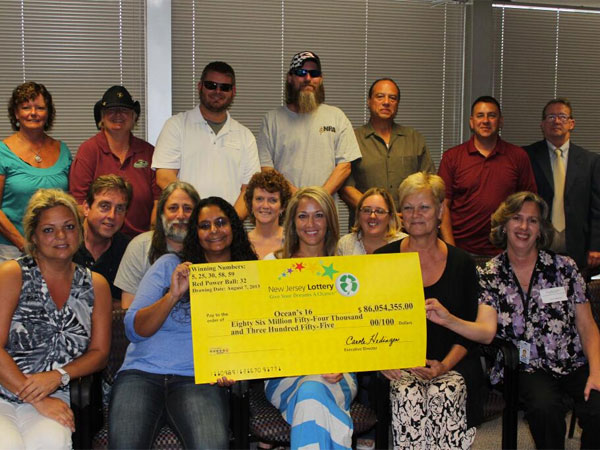 These 16 Ocean County government employees won $86 million in last week´s $425 million Powerball drawing.