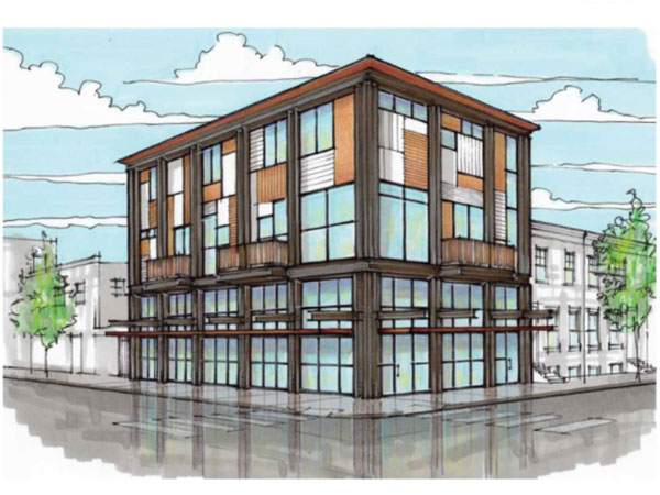 Rendering for Scarduzio´s at 12th and Morris Streets.