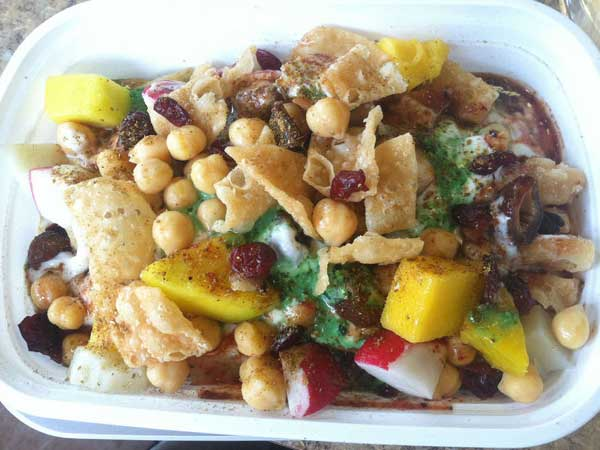 Papri chaat from Mood Cafe