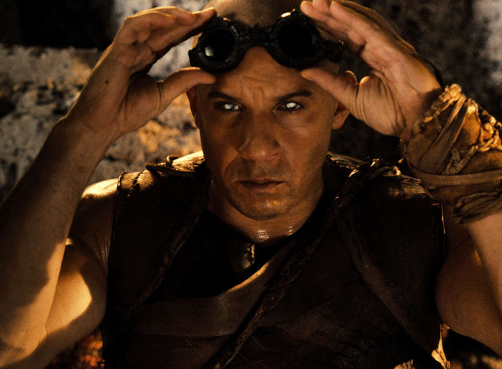 """Vin Diesel plays the title character in """"Riddick,"""" the third chapter in the sci-fi franchise."""