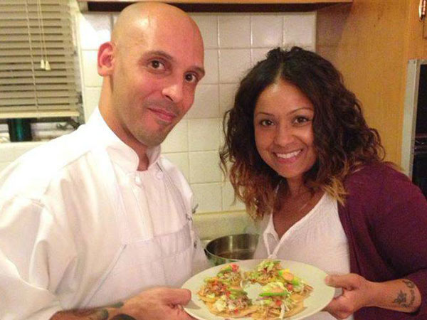 Chefs Ted Torres and Diana Sabater of The Kitchen Barrio.