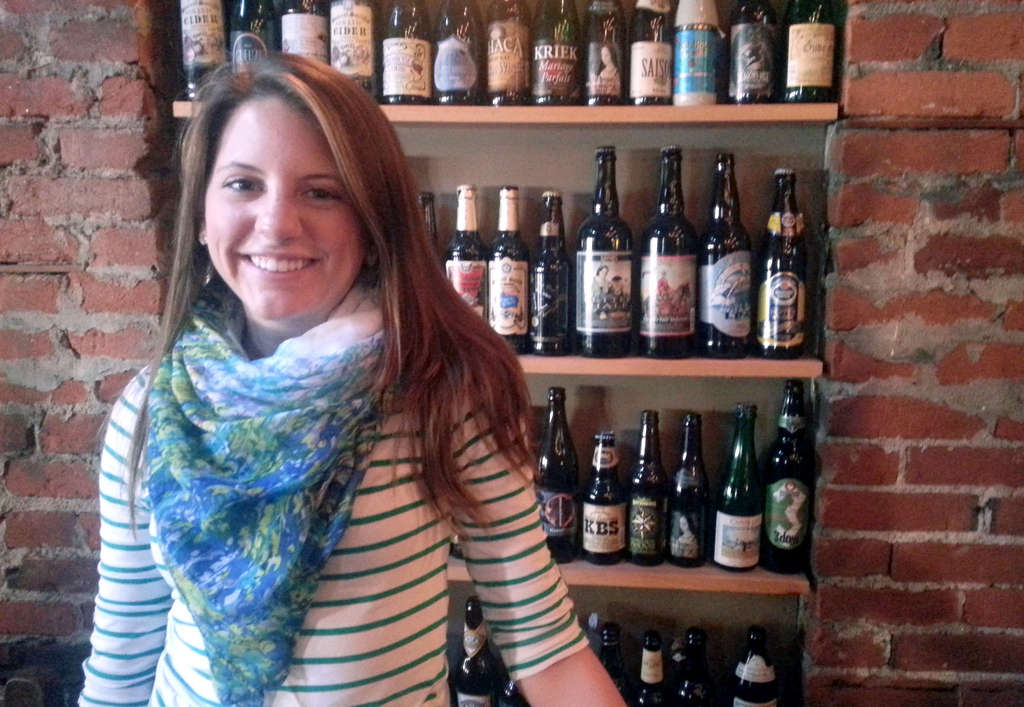 Alyssa Montgomery is president of Temple University´s Craft Beer Enthusiasts Club.