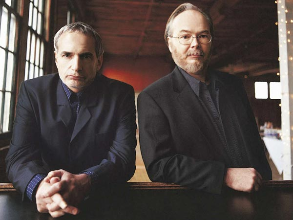Steely Dan. Donald Fagen (left), Walter Becker (right)