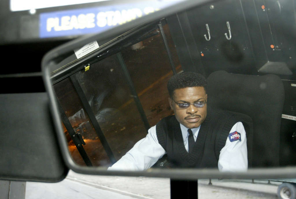 SEPTA bus driver Joe Wilson , who´s retiring. It was an honor, he said, to safely take passengers from work to home. JENNIFER MIDBERRY / Staff Photographer