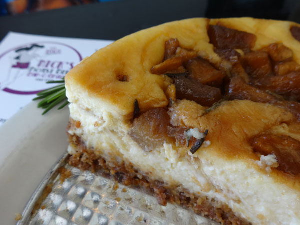 Bacon cheesecake