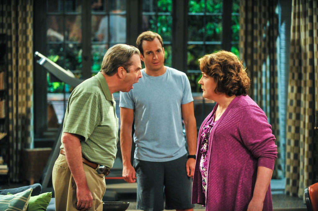 """The Millers"": Parents Beau Bridges and Margo Martindale move in with son Will Arnett."