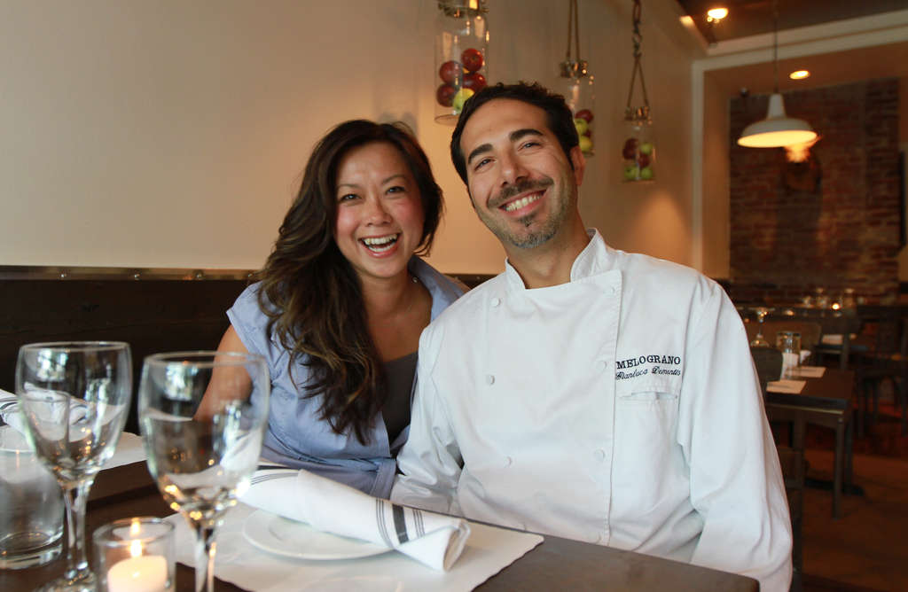 Rosemarie Tran and chef-husband Gianluca Demontis are also the duo behind Melograno, which they opened a decade ago in Center City. Fraschetta seeks to duplicate the popularity of that restaurant in a suburban setting. They discuss Fraschetta at www.inquirer.com/labanreviews.