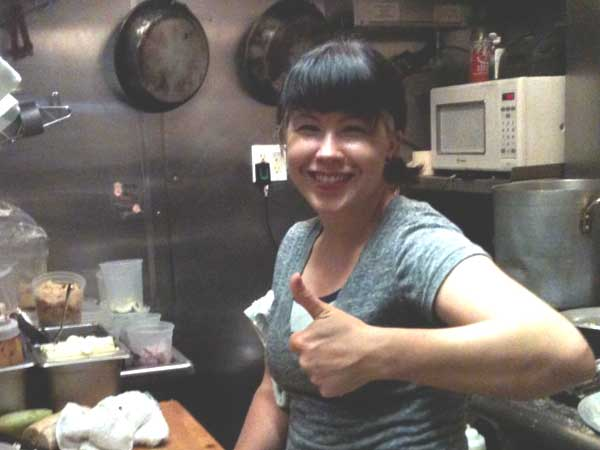 Jennifer Choplin is on board as chef at Tap Room On 19th St.