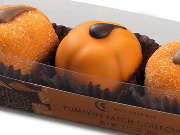 Pumpkin ganache truffles from Moonstruck.
