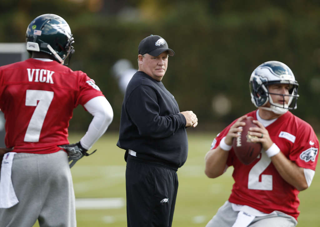Vick's next test: An all-out sprint