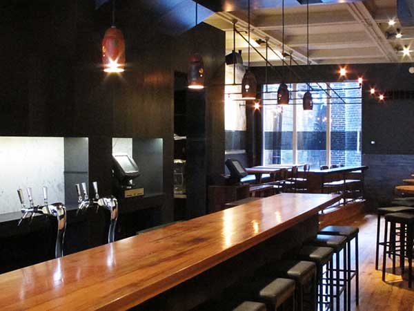 Bar at Tria Taproom, 2005 Walnut St.  (Photo: Holley Robbins)