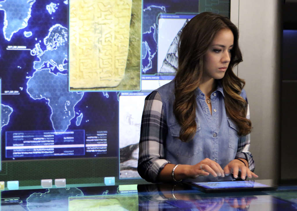 "Chloe Bennet plays the strong and witty Agent Skye in ""S.H.I.E.L.D."" She grew up with six brothers."