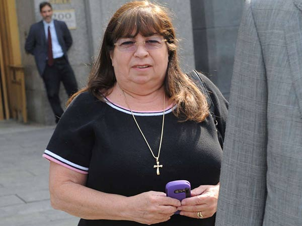 Annette Bongiorno worked for Bernard Madoff for 40 years. LOUS LANZANO / AP