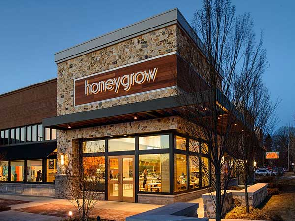 Honeygrow in Bala Shopping Center.
