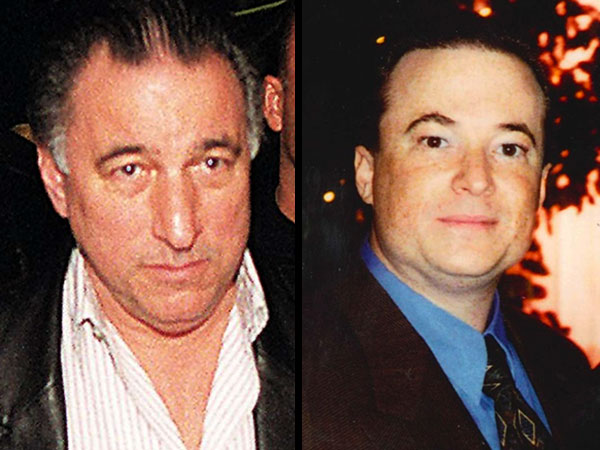 Reputed Philadelphia mob boss Joe Ligambi, left, and his nephew, George Borgesi, right, are charged with bookmaking and illegal video gambling. (File photos)