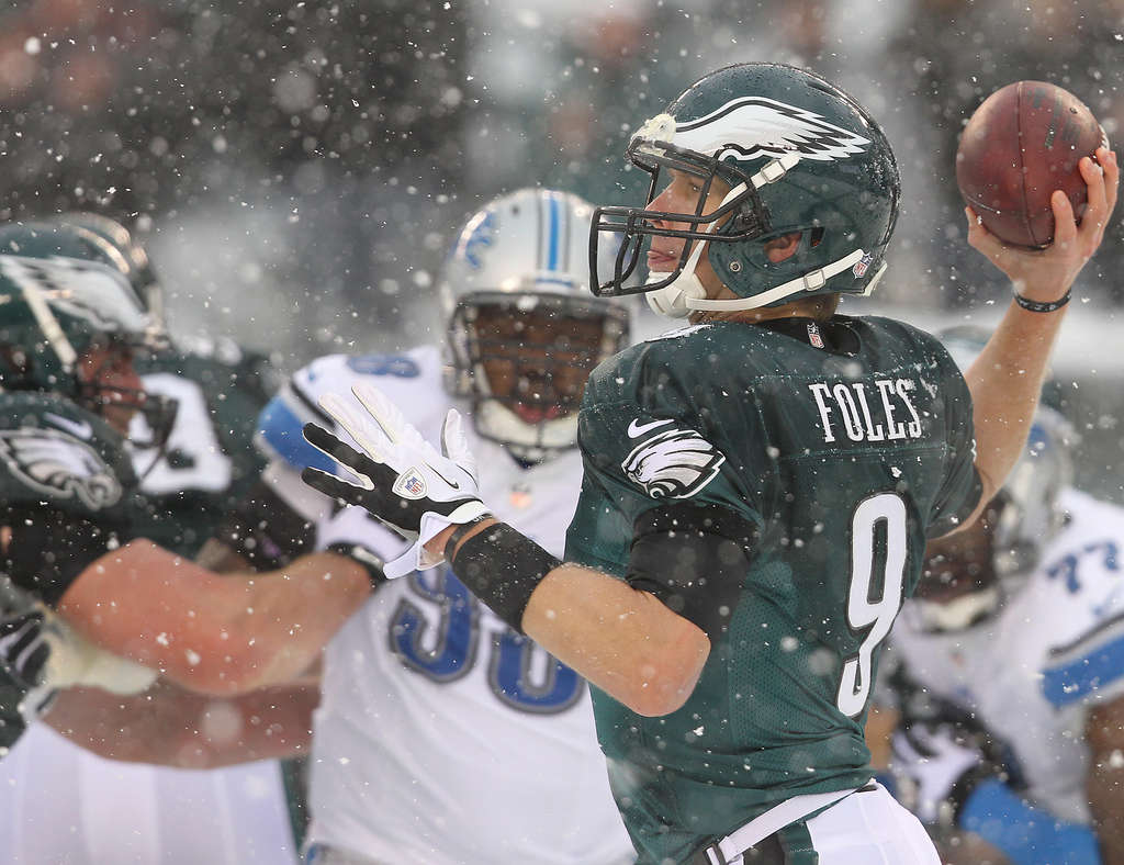 DAVID MAIALETTI / STAFF PHOTOGRAPHER Nick Foles might be just what the doctor ordered in fantasy play.