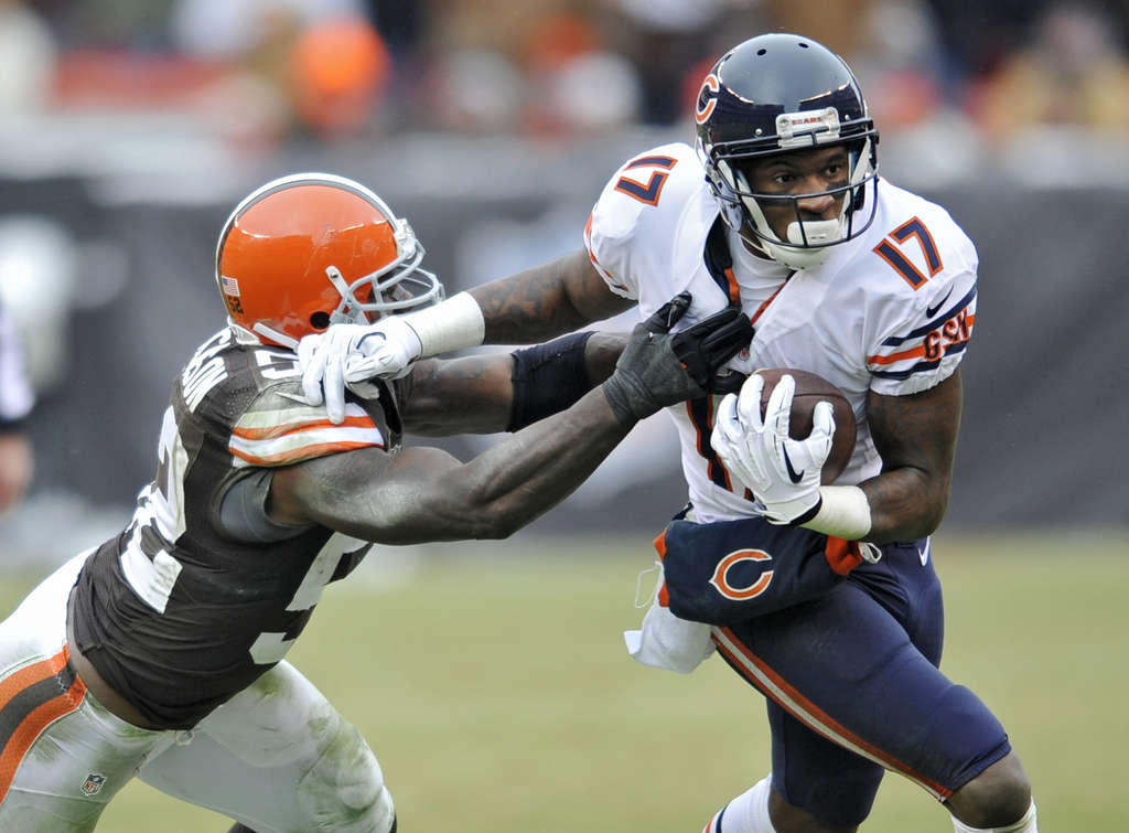 ASSOCIATED PRESS The Bears´ Alshon Jeffery came out of nowhere this season to become a huge fantasy player.