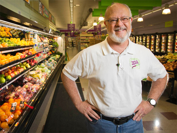 "After a decade as a ""food desert,"" the Delco city has a unique nonprofit supermarket, thanks to William Clark (above), Philabundance and their backers."