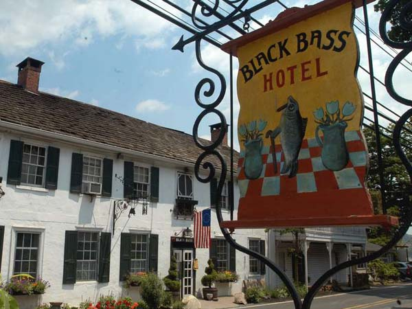 The Black Bass Hotel in Lumberville is among centenarian eateries featured in a recent book.