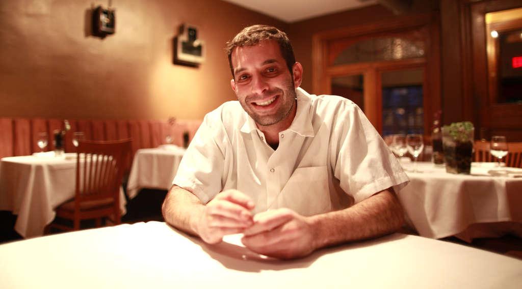 Chef-owner Robert Halpern of Marigold Kitchen.