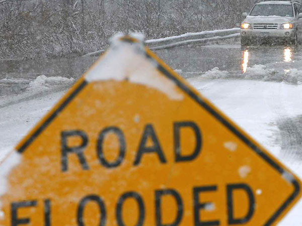 A flood watch is in effect for the region through 10 p.m. (AP file photo)