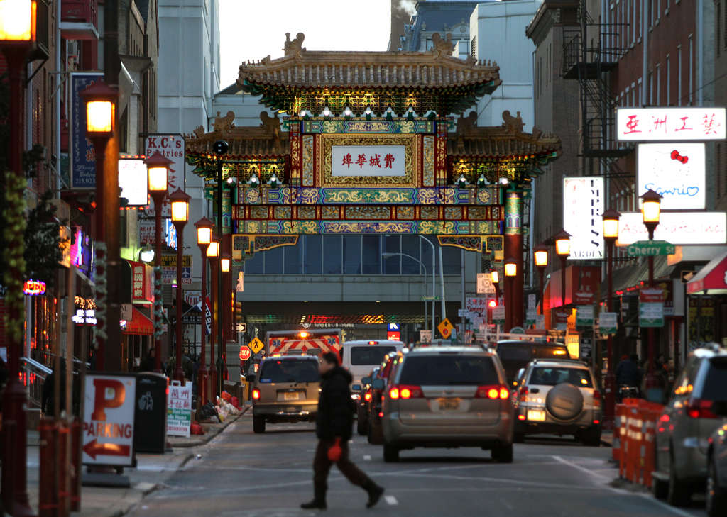 The Chinese Friendship Gate is the focal point of Chinatown, where the historic neighborhood is undergoing a transformation with an influx of new immigrants and entrepreneurs bringing new tastes and vibrancy to the area.