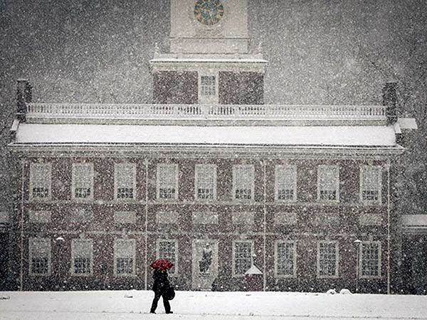 As of Jan. 13, Philadelphia had officially recorded 20.2 inches of snow this season. ALEJANDRO A. ALVAREZ, File / Staff Photographer