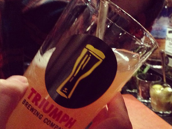 Triumph Brewing Co. has been open in Old City for more than seven years.
