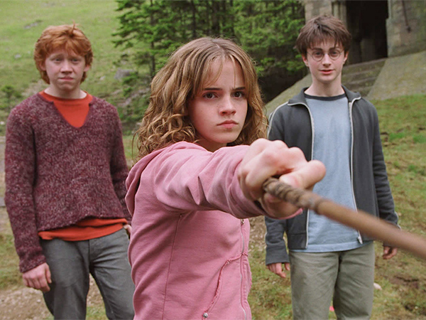 Harry Potter author J.K. Rowling is having second thoughts about having ended the series with heroine Hermione Granger paired up romantically with Ron Weasley.