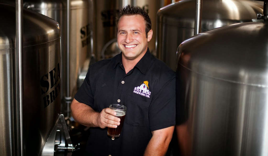 Bobby Baker is the brewer at Sea Dog brewpub, in Clearwater, just up the road from the spring-training Phillies.