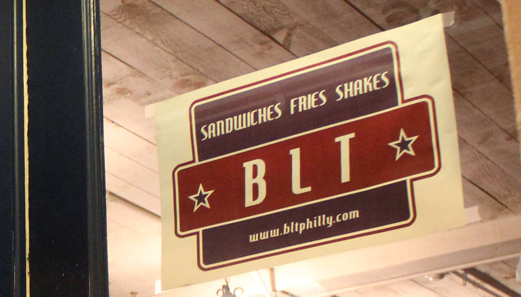 BLT (sandwiches) replaced Agiato in Manayunk.
