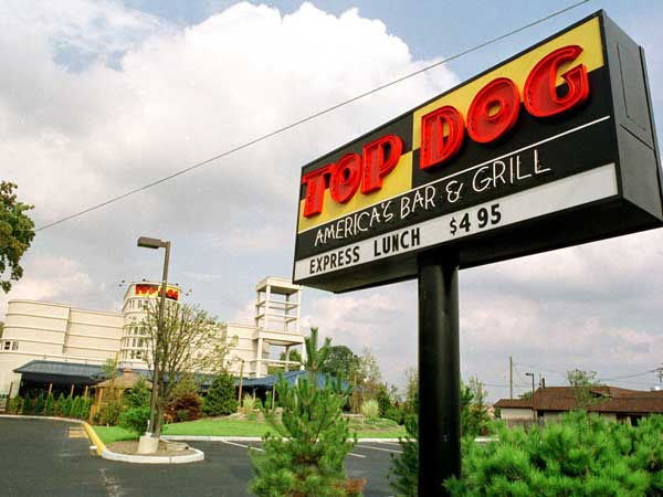 Top Dog, 2310 W. Marlton Pike, Cherry Hill, opened in 1999.