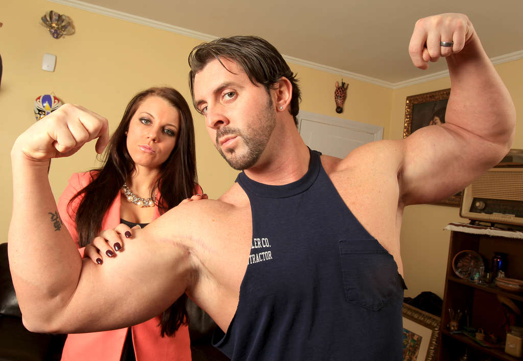 "Sofia and Shaun Sulligan are about to appear in their second reality show, ""Marriage Boot Camp."" He´s a brash Philly bodybuilder."