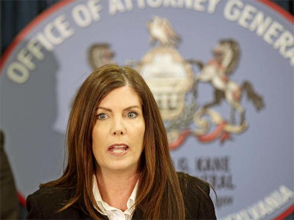 Pa. Attorney General Kathleen Kane.