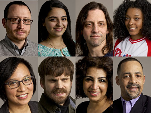 Among the speakers at Friday´s TEDxPhiladelphia conference are, clockwise from top left: Andrew Dahlgren, Nikki Adeli, Brian McTear, Dominique Streater, Chris Rabb, Simran Sidhu, Austin Seraphin and Katherina Rosqueta.