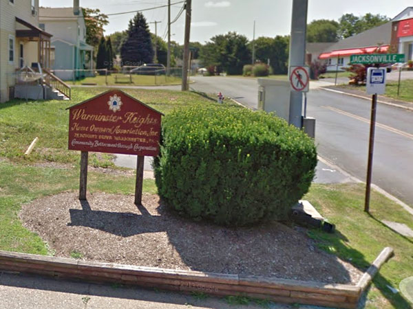 Police said two men tried to lure another man away from his home in the Warminster Heights section of the township around 11 p.m. Thursday. (Google StreetView)