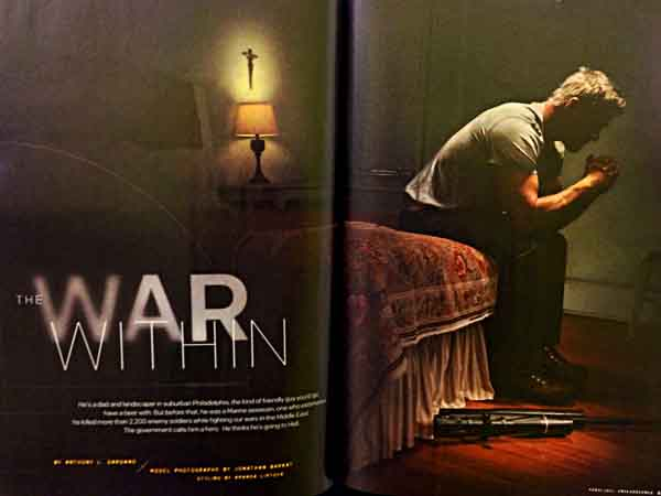 Philadelphia Magazine story on sniper, which contained fabrications.